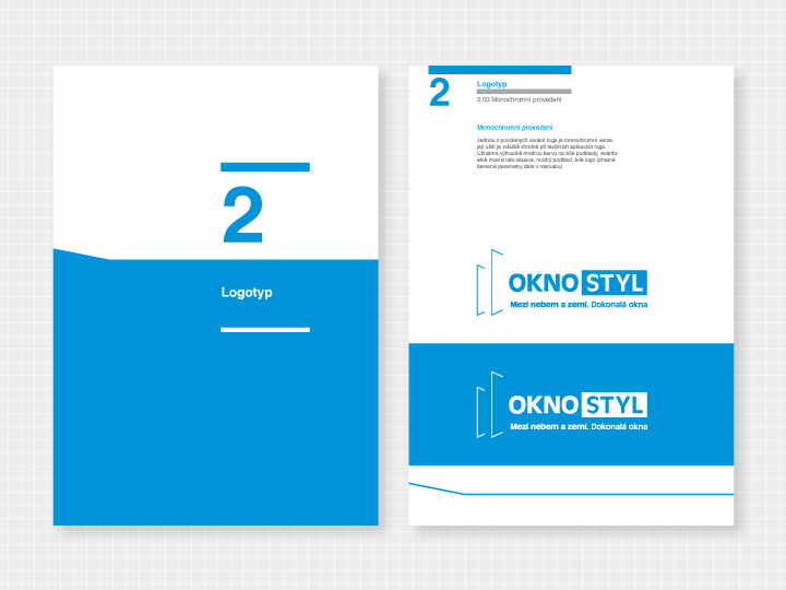 Oknostyl group | logo manual